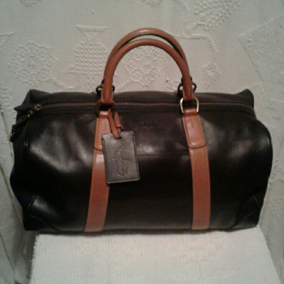 36b9bf2f9 Polo by Ralph Lauren Bags | Nwt Polo Ralph Lauren Leather Duffel Bag ...